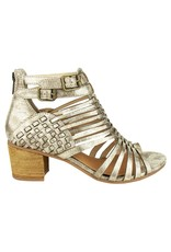 Not Rated Ofanto Block Heels Gold