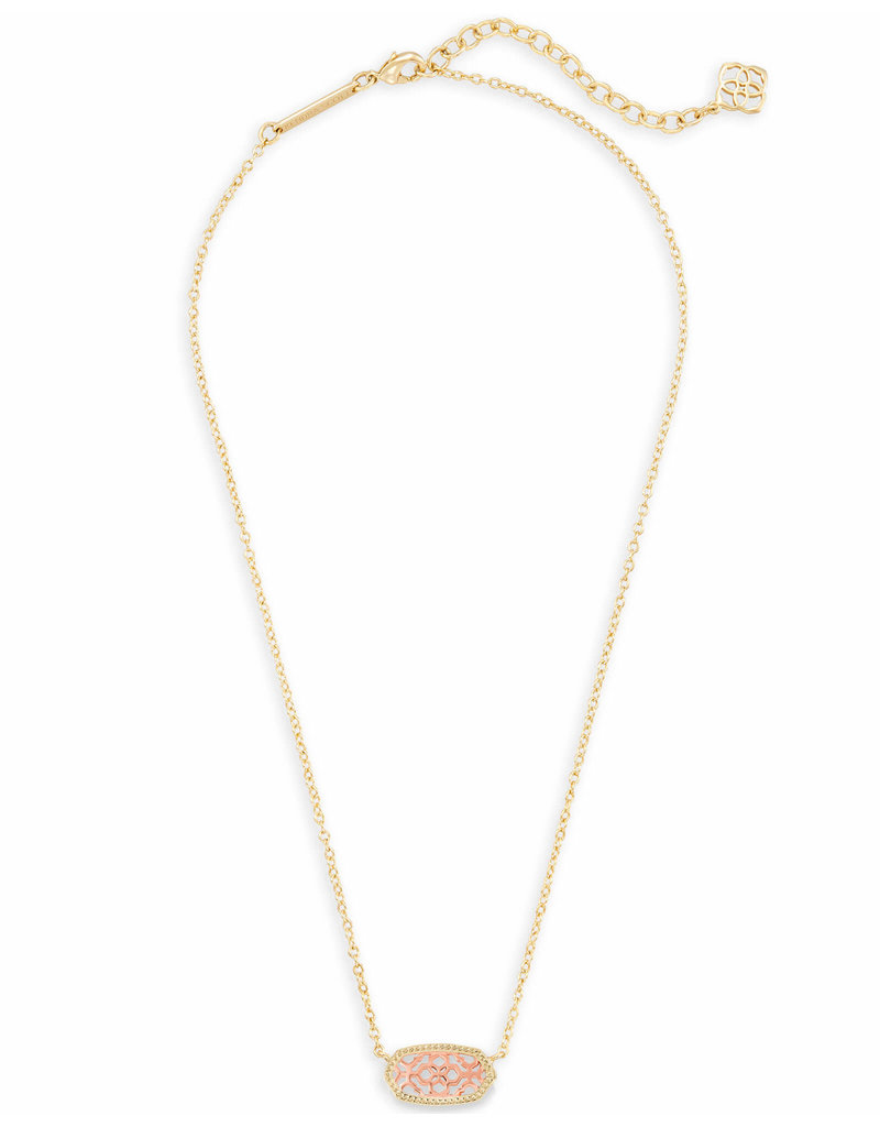Kendra Scott Kendra Scott Elisa Necklace Gold Rose Gold Filigree