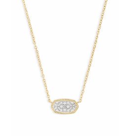 Kendra Scott Kendra Scott Elisa Necklace Gold Silver Filigree