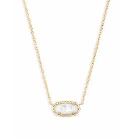 Kendra Scott Kendra Scott Elisa Necklace Gold Ivory Pearl (June)