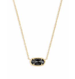 Kendra Scott Kendra Scott Elisa Necklace Gold Black
