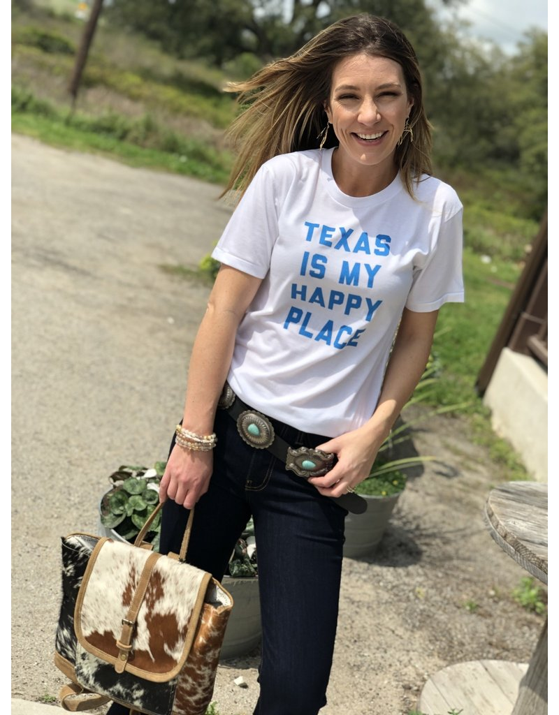 """""""Texas is My Happy Place"""" Tee"""