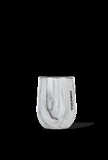 Corkcicle 12oz Stemless Wine Glass Snowdrift