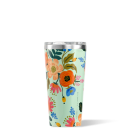 Corkcicle 16oz Tumbler Mint Lively Floral