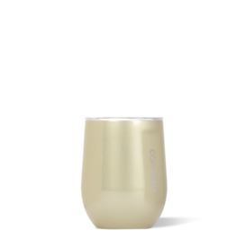 Corkcicle 12oz Stemless Wine Glass-  Glampagne