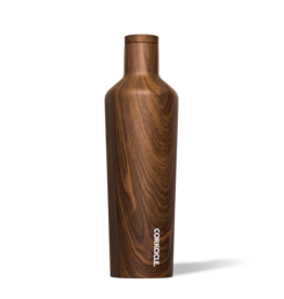 Corkcicle Corkcicle 25oz Canteen Walnut Wood