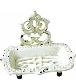 Ivory Cast Iron Soap Dish