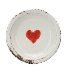 5in Round Heart Dish