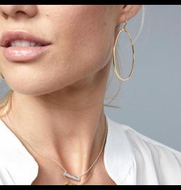 Gorjana G Ring Earrings Gold