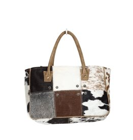 Cowhide Hairon Patchwork Purse CH1353