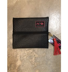 Makeup Junkie Small Bag Black Cobra