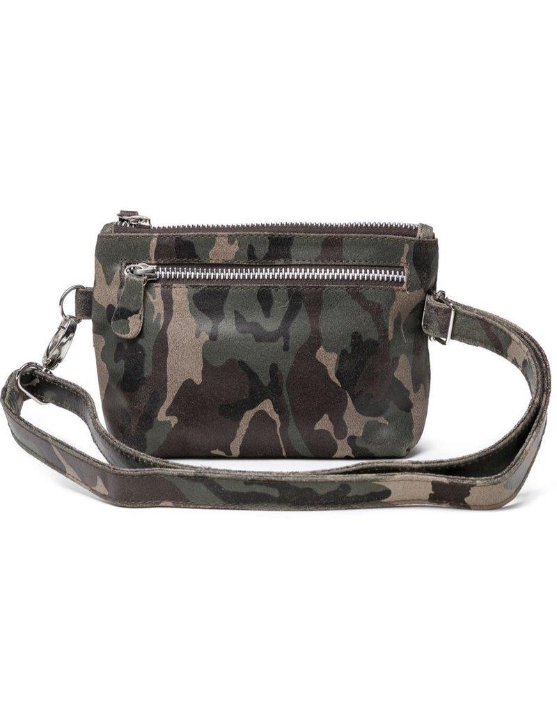 CoFI Leather Hipbag - New Camouflage