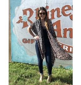 2bf7b0f703c One Size Kimono - Pink Ombre Leopard