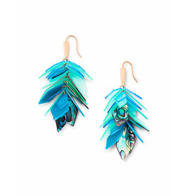 Kendra Scott Jenni Earring in Rose Gold Abalone Mix