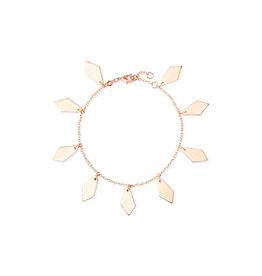 Kendra Scott Pike Bracelet in Rose Gold