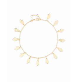 Kendra Scott Zolton Anklet in Gold