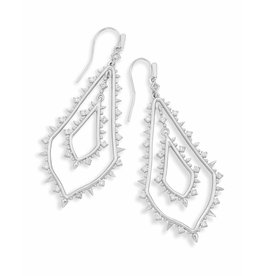 Kendra Scott Alice Earrings in Silver