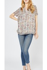 Multi Colored Snake Print Top