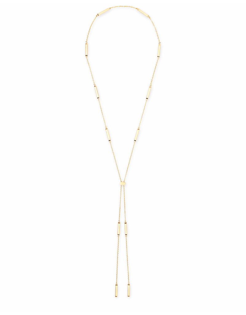 Kendra Scott Josephine Necklace in Gold Metal