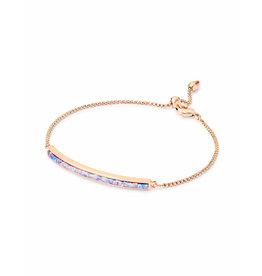 Kendra Scott Eloise Ann Bracelet in Rose Gold Lavender Opal