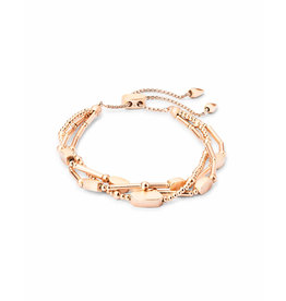 Kendra Scott Chantal Bracelet in Rose Gold Metal