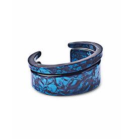 Kendra Scott Kaiden Bracelet in Navy Blue Acetate
