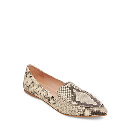 Steve Madden Feather Snake Print Flats