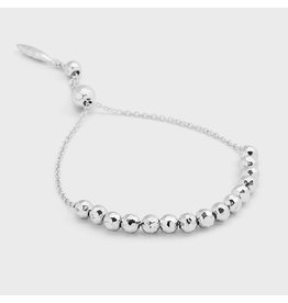 Gorjana Laguna Large Adjustable Bracelet - Silver