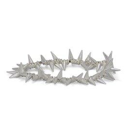 Erimish Spike Bracelet - Bright Silver