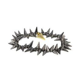 Erimish Spike Bracelet - Gunmetal