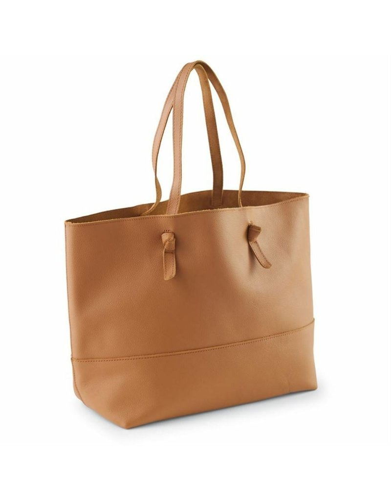 Tan Leather Tote