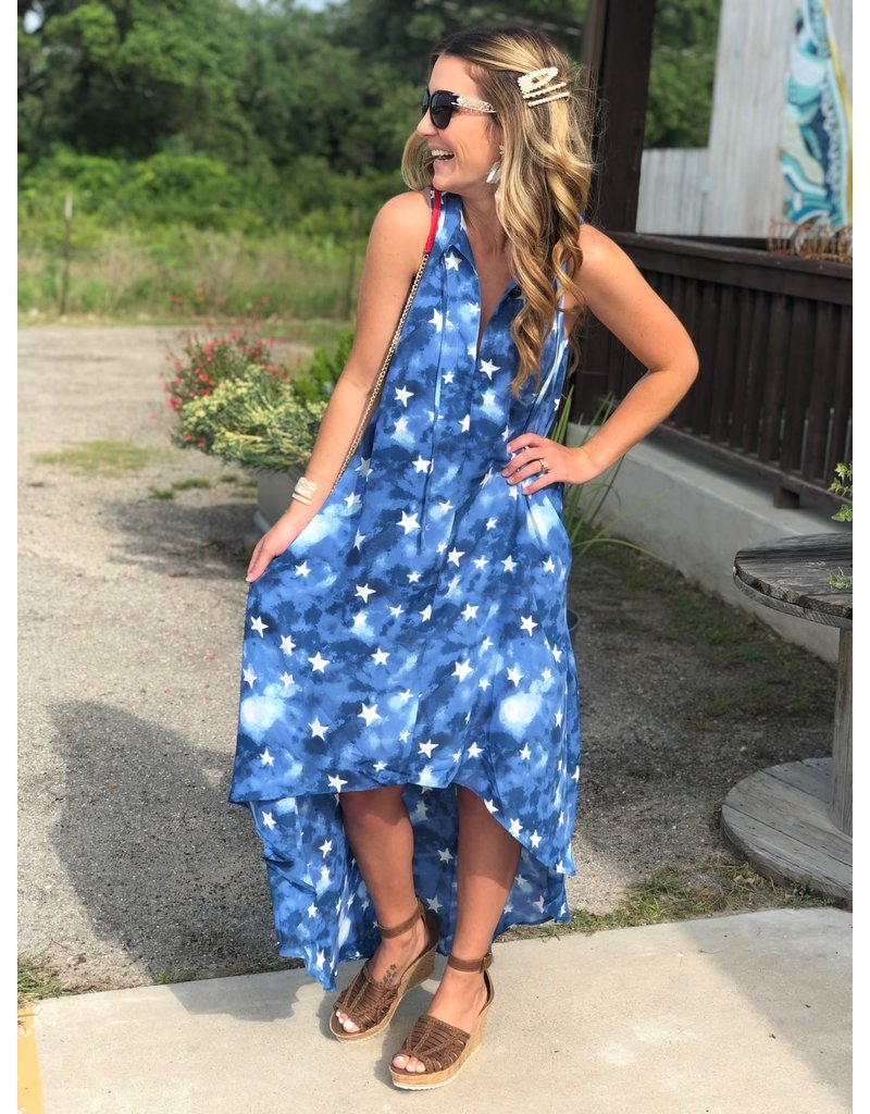 Americana Campbell Hi-Low Dress