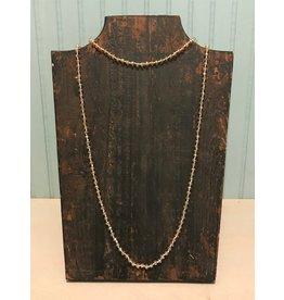Topaz Glass Bead Necklace