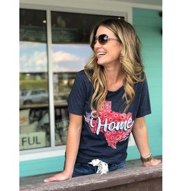 Texas Red Bandana Tee