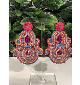 Treasure Jewels Jane Multi Earrings
