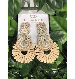 Treasure Jewels Sammy Nude Earrings