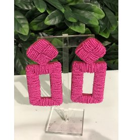 Treasure Jewels Penelope Pink Earrings