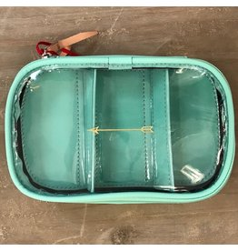 JH #816 Easy View Organizer- Mint with Gold Arrow