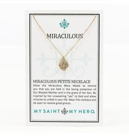 MSMH Miraculous Petite Necklace - Gold