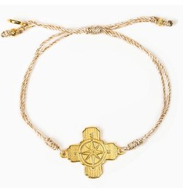 MSMH True North Bracelet Met Gold/Gold