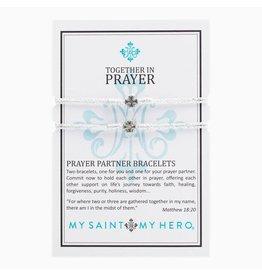 MSMH Prayer Partner Bracelet - Silver Met/Sil