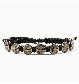 MSMH Benedictine Blessing Bracelet Black/Jet Blk