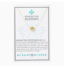 MSMH Benedictine Petite Necklace - Gold