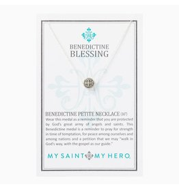 MSMH Benedictine Petite Necklace - Silver