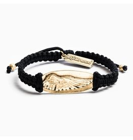 MSMH Soar in Rememberance Bracelet Blk/Gold