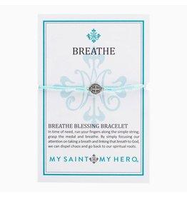 MSMH Breathe Blessing Bracelet - Mint/Slvr