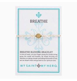MSMH Breathe Blessing Bracelet-Metallic Gold/Gold