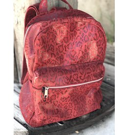 Cofi Red Anaconda Kay Backpack