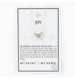 MSMH Blessings & Joy Necklace Silver/Silver