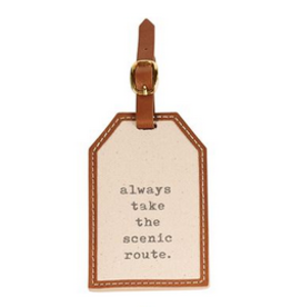 Always Canvas Luggage Tag
